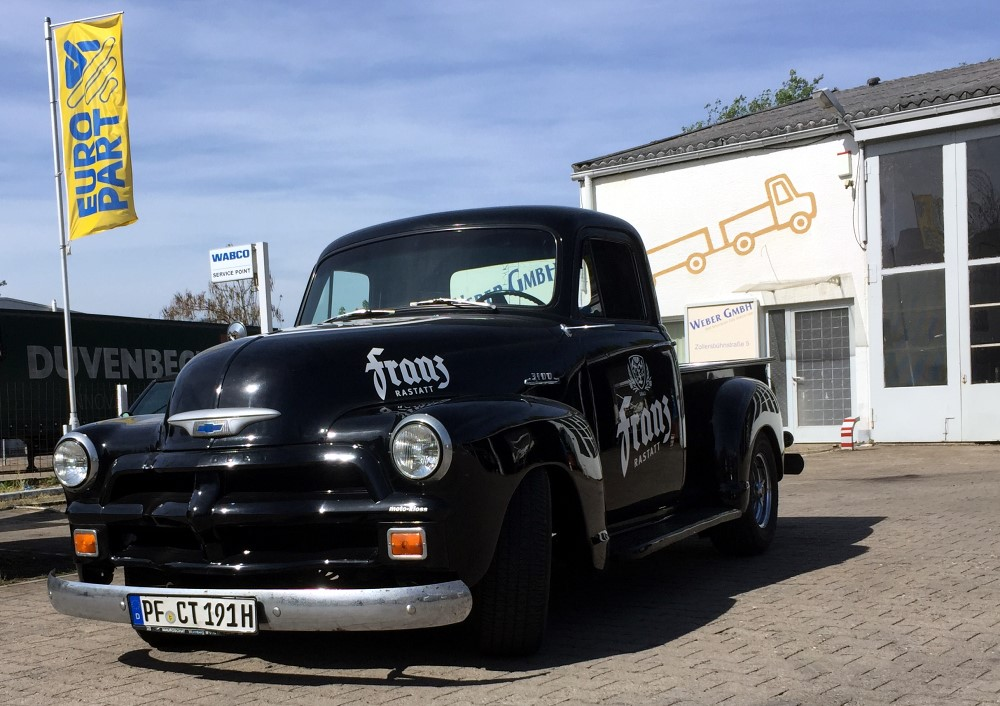 Chevrolet 3100 Pickup First Series 1954